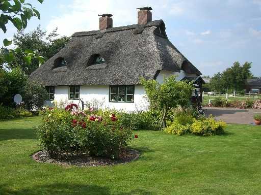 Reetdach Ferienhaus in Helserdeich bei Marne und Friedrichskoog - Nordsee Nordseeferien mit der Familie